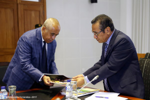 Minister Estanislau da Silva advises President on work undertaken