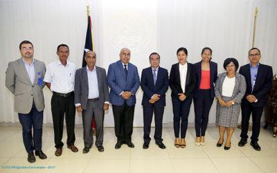 Minister Estanislau da Silva advises President on work undertaken