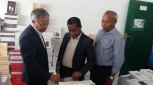 Government and Civil Society distribute 78,000 books