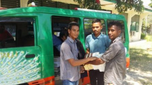 Government and Civil Society distribute 78,000 books